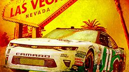 NASCAR xfinity Chevy Camaro number 11 Vegas Speedway