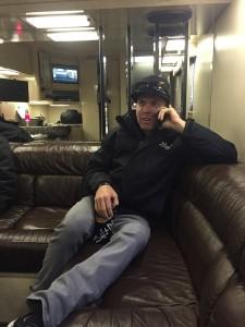Blake Interviewing with SiriusXM NASCAR