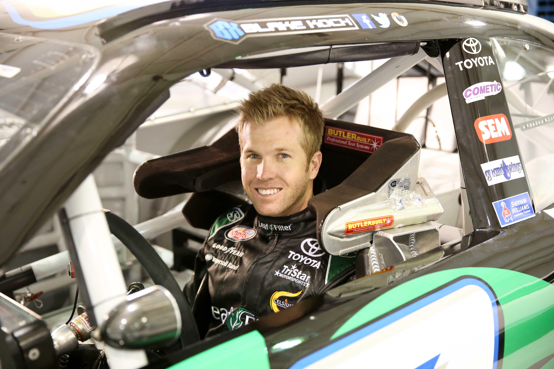 Blake Koch Leaf Filter Racing