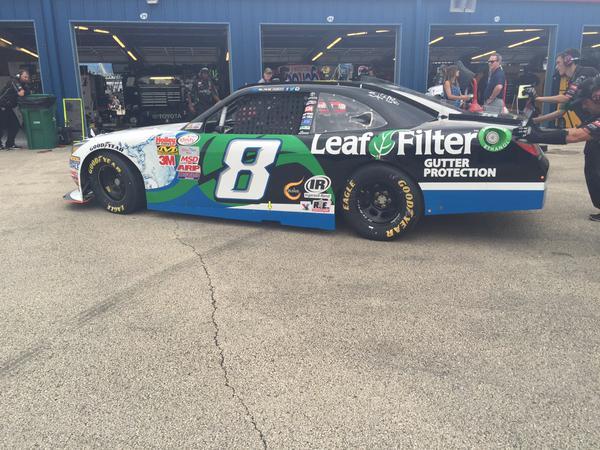 Leaf Filter Racing at Kentucky