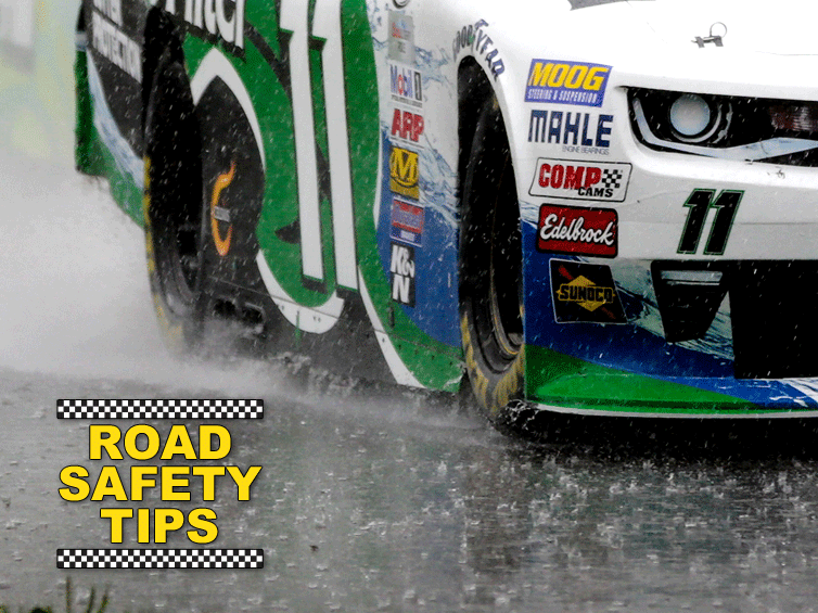 Check out these road safety tips from Blake Koch
