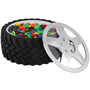 This kitschy tire bowl makes for a unique gift for any NASCAR fan