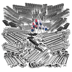 NASCAR enthusiasts who want to trick out their own cars will love a mechanic tool set