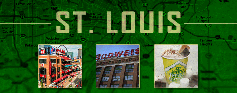 First Stop: St. Louis, MO
