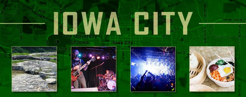 Last stop: Iowa City, IA