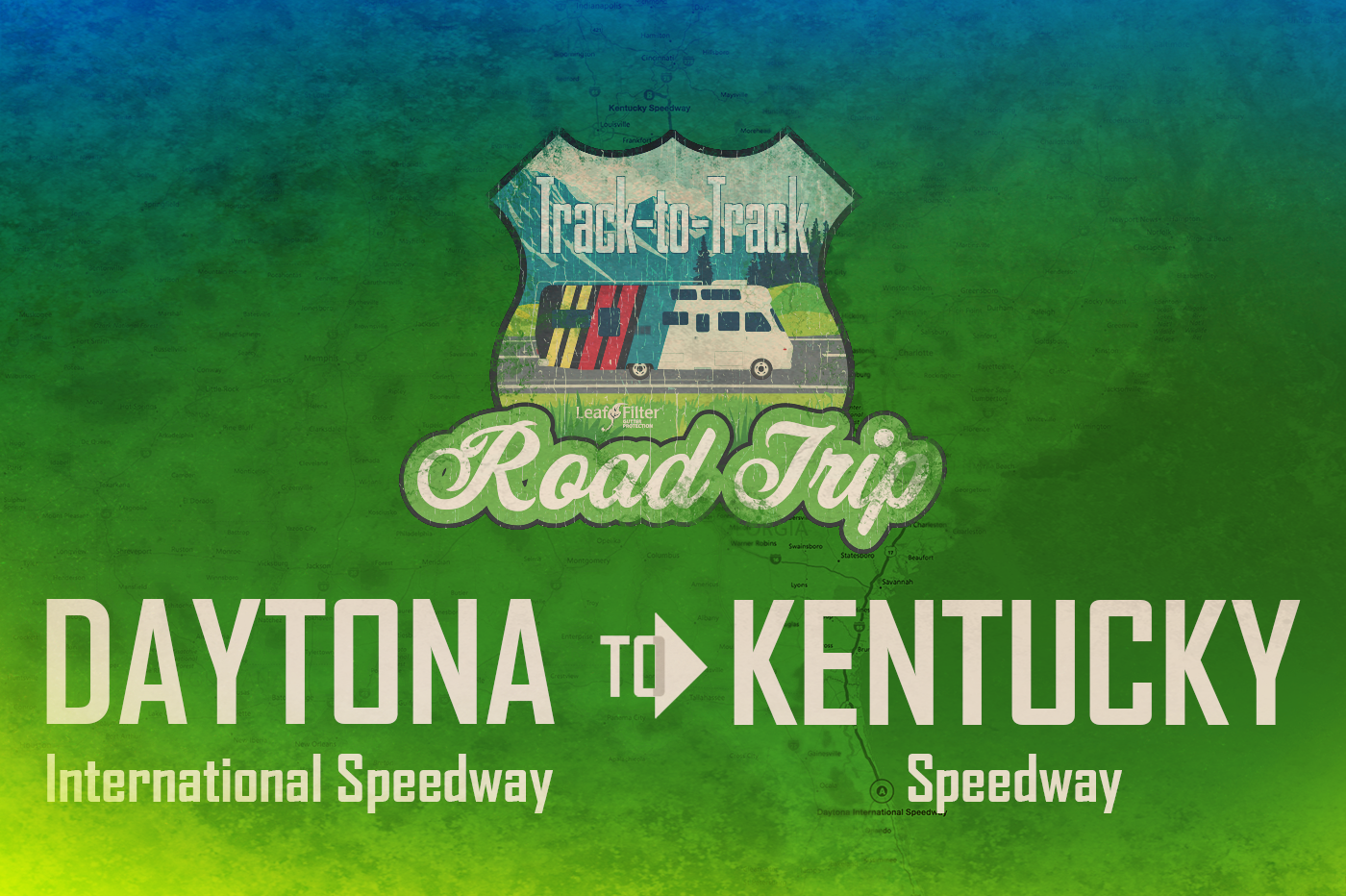 Track-to-track road trip Daytona to Kentucky