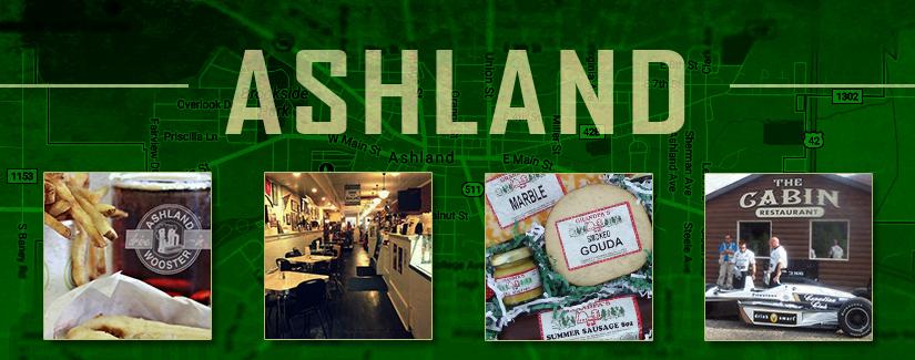 Last stop: Ashland, OH
