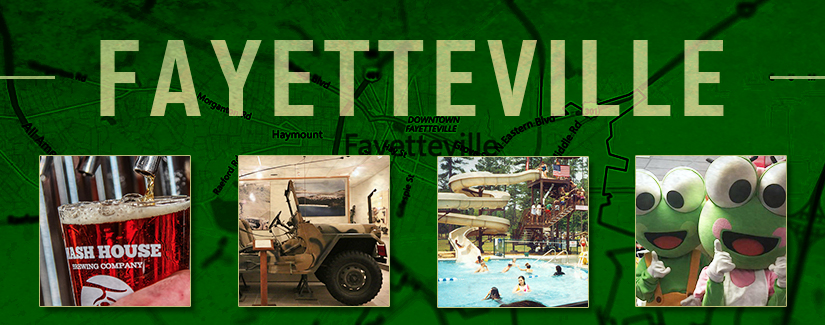 Pit Stop: Fayetteville, NC